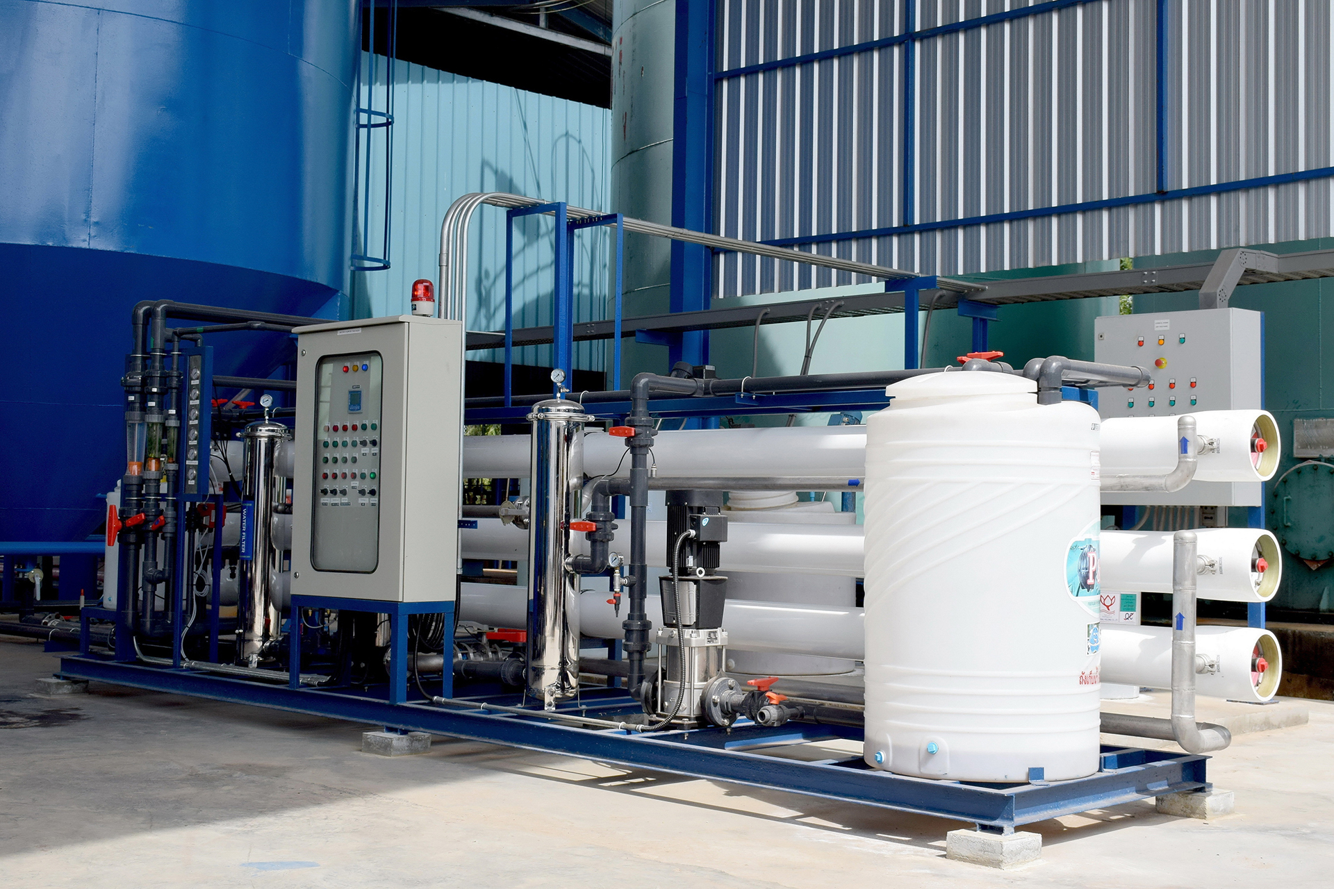 Variable frequency drives for reverse osmosis pumps