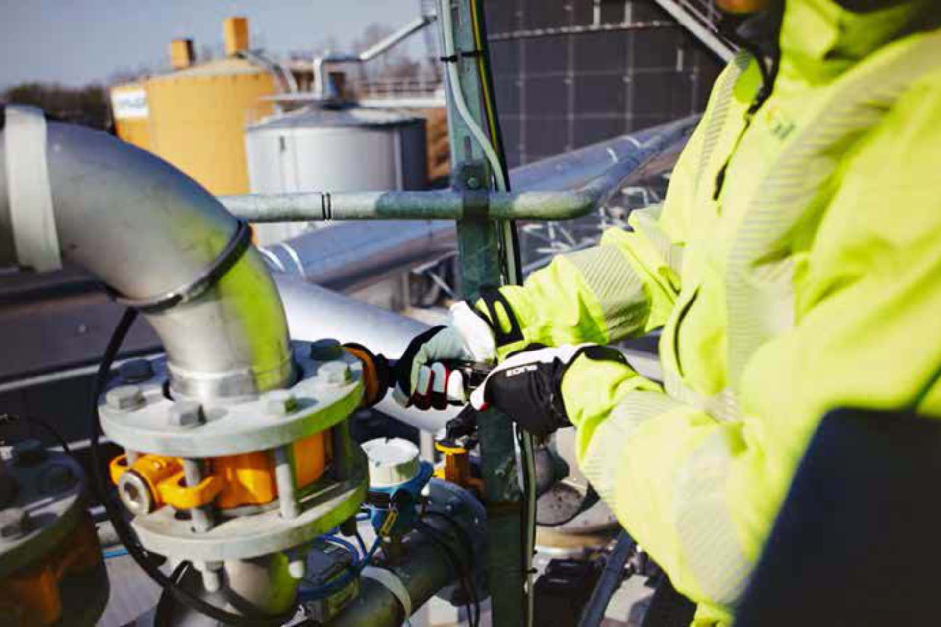 Emotron drives help reduce downtime at NSR biogas plant in